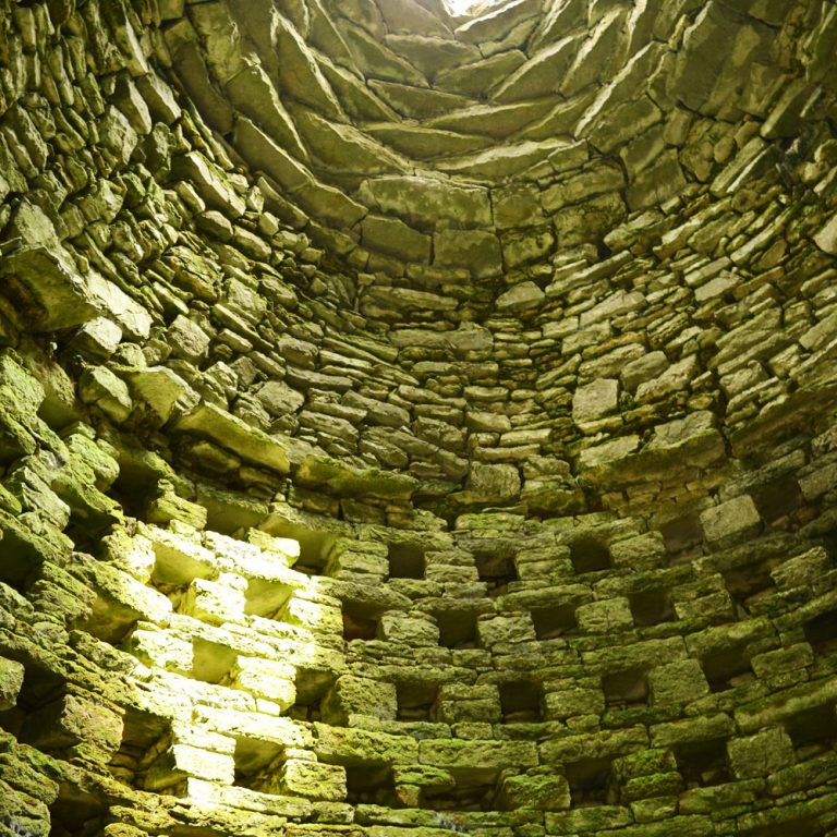 Inside Dovecot Tower Ballybeg Abbey BUttevant