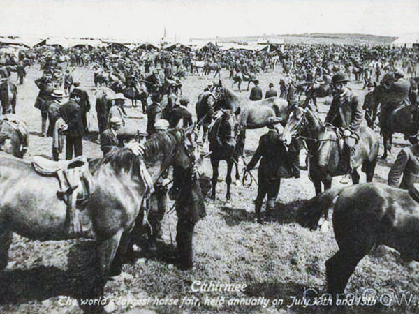 Cahirmee Horse Fair early 20th Century