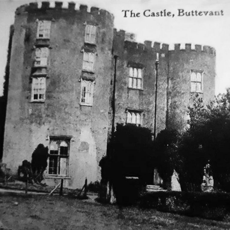 Older photo of Barry's Castle Buttevant