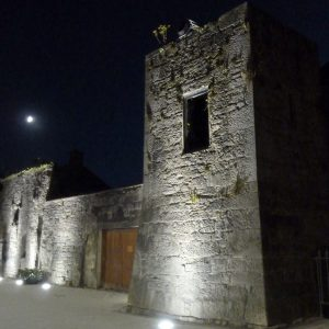 Lobards Castle Buttevant by night