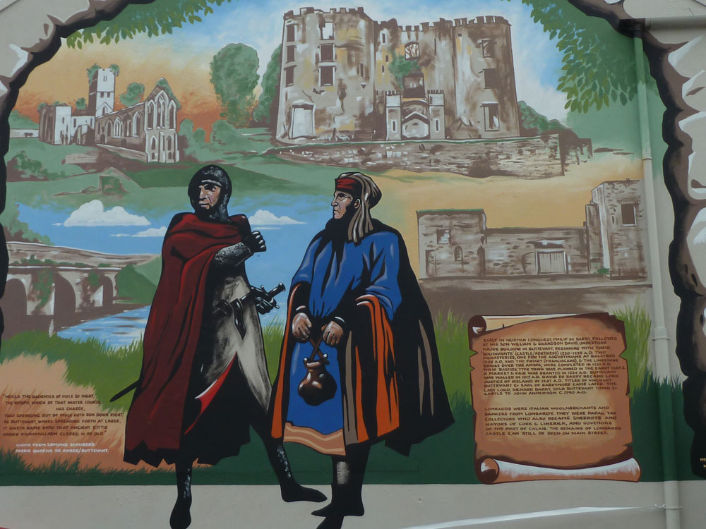 Norman Mural Buttevant