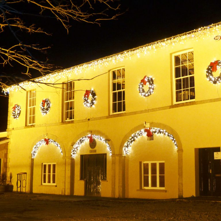 Market House Buttevant at Christmas